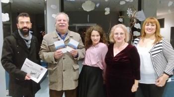 Παρουσιάστηκε με επιτυχία η ποιητική συλλογή «Μακρινή παρουσία» του Αλέκου Χατζηκώστα στη Νάουσα