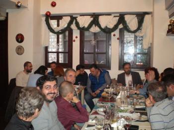 Το τραπέζι των Ευχαριστιών του Εμπορικού Συλλόγου Βέροιας σε Δήμαρχο Βέροιας, Επιμελητήριο Ημαθίας και Δημοσιογράφους