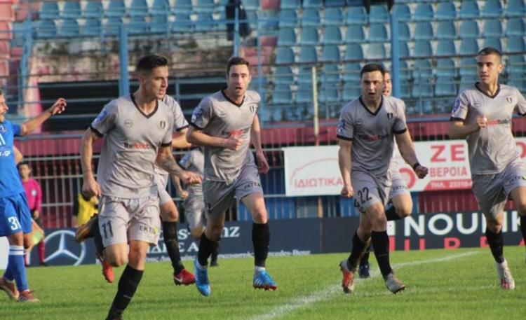 Άνετη και ωραία η ΒΕΡΟΙΑ νίκησε 3-0 μέσα σε έναν βαρύ αγωνιστικό χώρο την Νίκη Βόλου