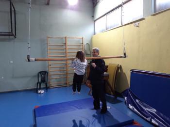 «Μαθαίνω για την ενόργανη γυμναστική» : 2η βιωματική δράση του Ηρακλή Νάουσας