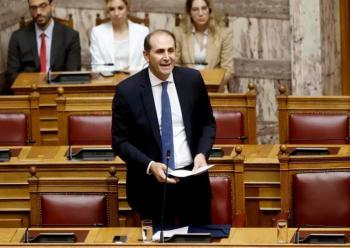 Απόστολος Βεσυρόπουλος : «Ο προϋπολογισμός σηματοδοτεί τη μείωση των φόρων και τη στροφή στην ανάπτυξη»