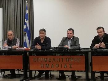 Κ.Καλαϊτζίδης : «Συνεχίζουμε την αναπτυξιακή συνεργασία με τους ΤΟΕΒ και τα έργα υποδομής για τους αγρότες της Ημαθίας»