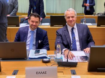 Ο ΥπΑΑΤ Μάκης Βορίδης έθεσε στις Βρυξέλλες το ζήτημα των παράνομων ελληνοποιήσεων