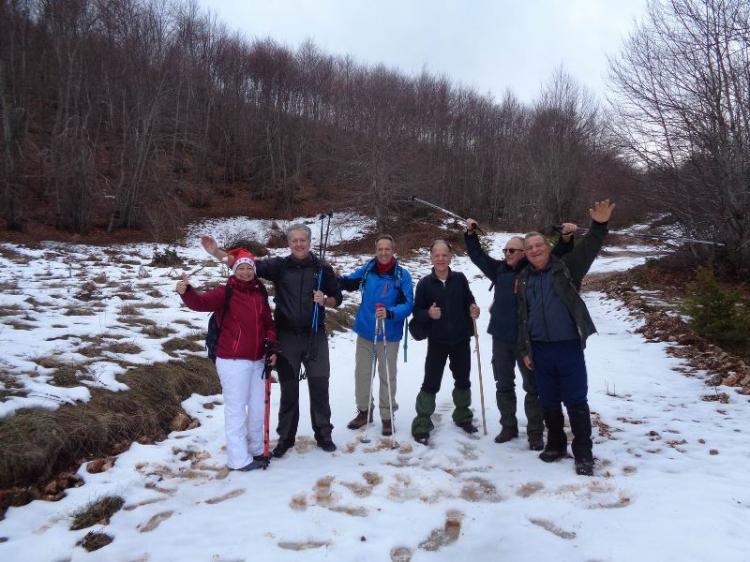 ΒΕΡΜΙΟ, Κορυφή Μαγούλα 1705 μ., Κυριακή 22 Δεκεμβρίου 2019, με τους Ορειβάτες Βέροιας