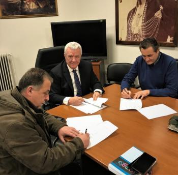 Υπογράφηκε η σύμβαση για την εκπόνηση μελέτης με τίτλο «Σύνταξη Γενικού Σχεδίου Ύδρευσης Δήμου Αλεξάνδρειας»
