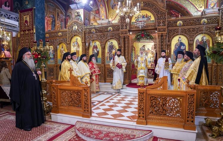 Εορτασμός της Περιτομής του Κυρίου και του Μεγάλου Βασιλείου και Δοξολογία για το νέο έτος στη Βέροια