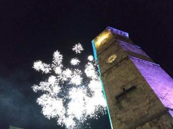 Πλήθος κόσμου στο πρωτοχρονιάτικο ρεβεγιόν που διοργάνωσε ο Δήμος Νάουσας