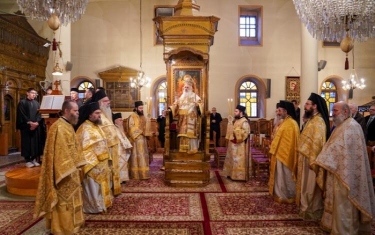 Η Σύναξη της Υπεραγίας Θεοτόκου στη Νάουσα