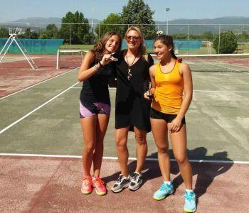 2η και 3η θέση για την Παυλίδου Θένια στο πανελλαδικό πρωτάθλημα tennis της Βέροιας