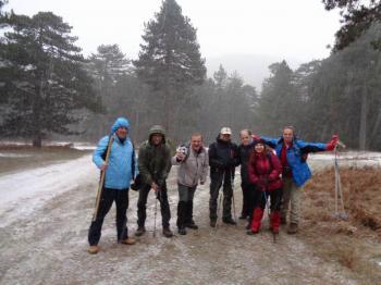 ΒΕΡΜΙΟ, κορυφή  Στουρνάρι 1770 μ, Πορεία  στο χιόνι, Κυριακή 5 Ιανουαρίου 2020, με τους Ορειβάτες  Βέροιας