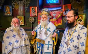 Εορτάστηκε η Σύναξη του Τιμίου Προδρόμου στην ομώνυμη Σκήτη της Βέροιας