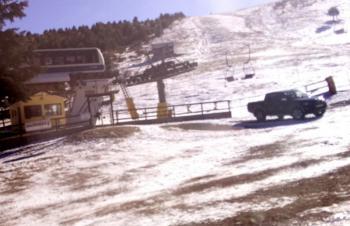 Σέλι : Έλλειψη χιονιού, στάση...χιονοδρομίας!