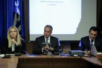 Ο ΥπΑΑΤ Μ. Βορίδης παρουσίασε τον απολογισμό και τους στόχους για τα μεγάλα και σημαντικά έργα