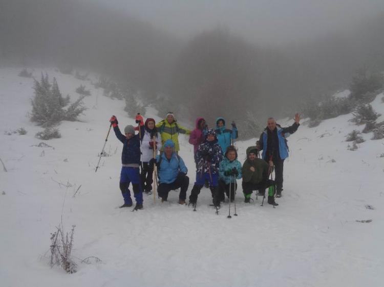 ΒΕΡΜΙΟ, Χιονοδρομικό κέντρο Σελίου, κοπή βασιλόπιτας στην κορυφή 1874μ., Κυριακή 12 Ιανουαρίου 2020