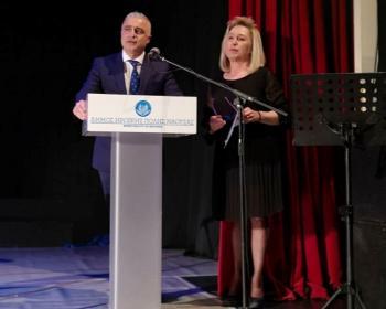 Στην εκδήλωση που διοργάνωσε η Αγαθοεργός Αδελφότητα Κυριών Νάουσας παρευρέθηκε ο βουλευτής Ημαθίας Λ.Τσαβδαρίδης
