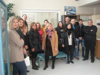 Επίσκεψη σπουδαστών του ΙΕΚ Βέροιας στις δομές του ΣΟΦΨΥ Ημαθίας