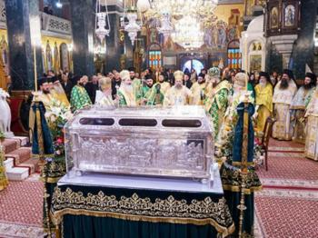 Η Βέροια τιμά τον Πολιούχο της Όσιο Αντώνιο το Νέο