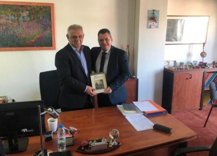 Συναντήσεις με υπουργούς και στελέχη από την Ημαθία είχε στην Aθήνα ο αντιπεριφερειάρχης Κώστας Καλαϊτζίδης