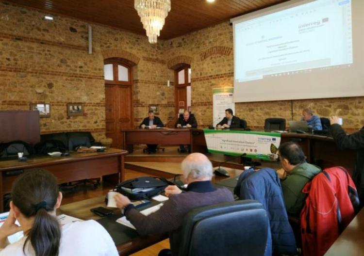 Κ.Καλαϊτζίδης : «Υλοποιούμε μια διεθνή συνεργασία στον αγροδιατροφικό τομέα, που μπορεί να αποδώσει πολλαπλά και καινοτόμα οφέλη στην Ημαθία»