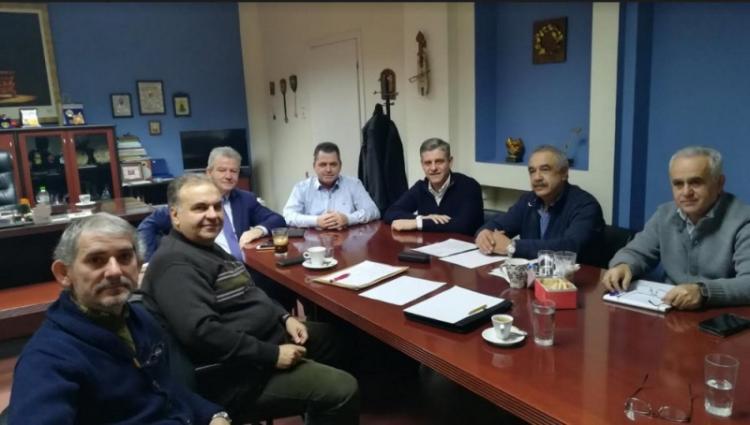 Επίσκεψη του αντιπεριφερειάρχη Κώστα Γιουτίκα και σύσκεψη στη Βέροια