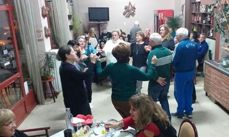Κοπή της πίτας του Χορευτικού Ομίλου Βέροιας