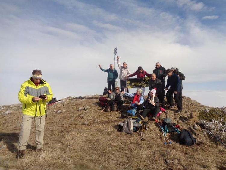 ΜΠΟΥΡΙΝΟΣ, Κορυφή ( Ντρισινίκος ) 1.866μ., Κυριακή 19 Ιανουαρίου 2020, με τους ορειβάτες Βέροιας