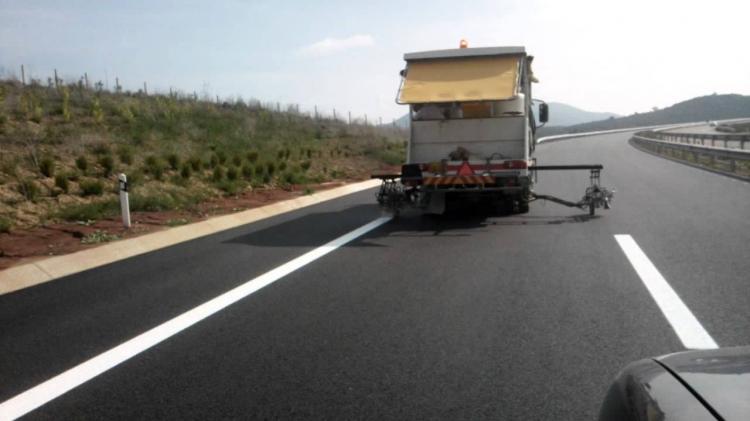 Προσωρινές κυκλοφοριακές ρυθμίσεις επί της Εγνατίας Οδού, στο πλαίσιο εργασιών διαγράμμισης