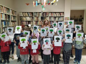 Δημοτική Βιβλιοθήκη Πλατέος : Επίσκεψη των