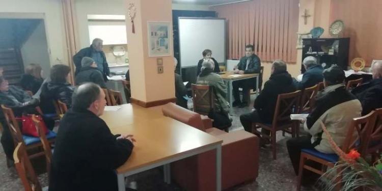 Σύσκεψη για το ασφαλιστικό πραγματοποίησε το Σωματείο Συνταξιούχων ΙΚΑ Βέροιας