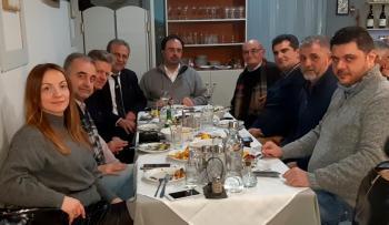 Τσιπουροκατάσταση με Αλέκο Τσαχουρίδη, Κώστα Βοργιαζίδη και δημοσιογράφους της Βέροιας!