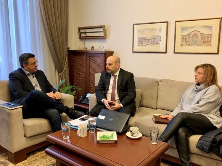 Συνάντηση του Περιφερειάρχη Κ.Μακεδονίας Απ.Τζιτζικώστα με το Διοικητή της Εθνικής Αρχής Διαφάνειας Ά.Μπίνη