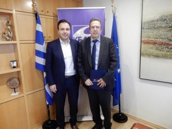 ΚΕΔΕ-ΕΣΕΕ : Μια συνεργασία που θα ωφελήσει τους πολίτες και θα δώσει ώθηση στο «επιχειρείν»