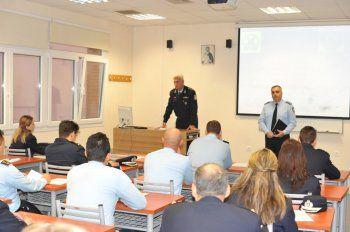 Έναρξη λειτουργίας Τ.Ε.Μ.Ε.Σ. & τέλεση αγιασμού στη Σχολή Αστυνομίας στο Πανόραμα
