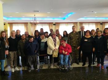 Το ΚΕΜΑΕΔ Βέροιας ευχαριστεί το Διοικητή της Ι Μεραρχίας Πεζικού – Υποστράτηγο, κ. Σάββα Κολοκούρη