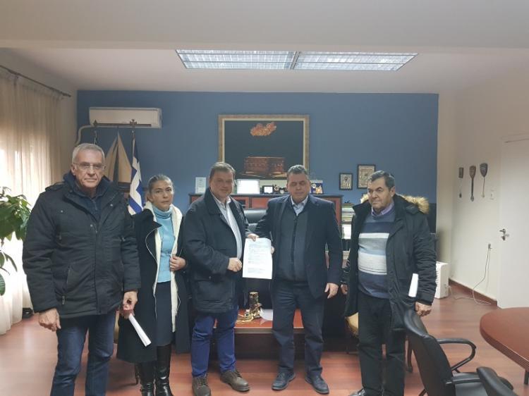 Επίσκεψη της Ένωσης Πολιτών Ημαθίας στον αντιπεριφερειάρχη κ. Κ. Κλαϊτζίδη