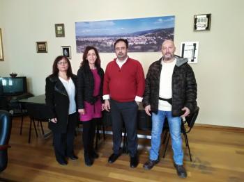 Επίσκεψη της Ένωσης Πολιτών Ημαθίας στο Δήμαρχο Βέροιας κ. Κωνσταντίνο Βοργιαζίδη