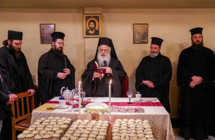 Βασιλόπιτα και ομιλία του Σεβασμιωτάτου στον «Επισκοπικό Λόγο» στη Νάουσα