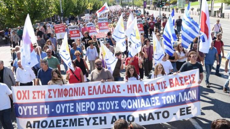 Να ακυρωθεί η ελληνοαμερικανική συμφωνία για τις βάσεις και να μην κατατεθεί στη Βουλή  -Του Αλέκου Χατζηκώστα