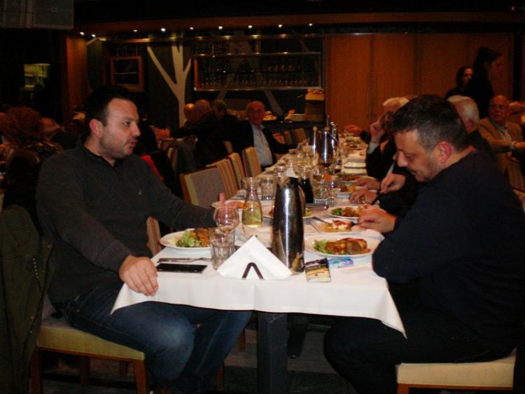 Οι Παλαίμαχοι ποδοσφαιριστές  ΓΑΣ &ΠΑΕΒΕΡΟΙΑ έκοψαν την πίτα τους