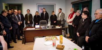 Συγκινητικές στιγμές στην αναμνηστική τελετή της ΔΕΥΑΝ για τον αλησμόνητο Γιάννη Γκαρνέτα