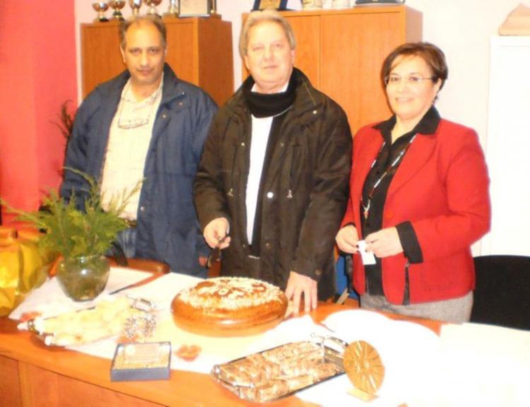 Κοπή Βασιλόπιτας και νέο ΔΣ στην Ένωση Σωματείων Χειροσφαίρισης Κ. Μακεδονίας