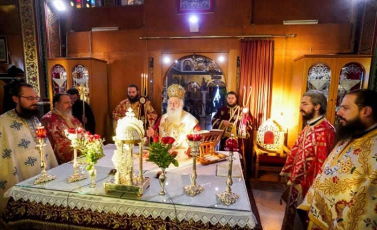 Η εορτή των Αγίων Αναργύρων Κύρου και Ιωάννου, προστατών των Ιατρών, στη Βέροια