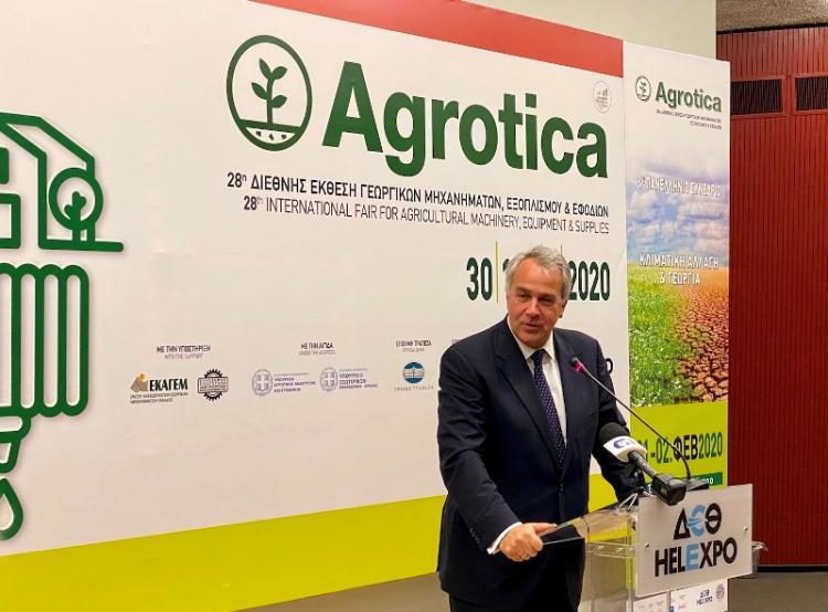 Μ. Βορίδης, στα εγκαίνια της 28ης Agrotica : «Καλλιεργούμε το Αύριο, Σήμερα»
