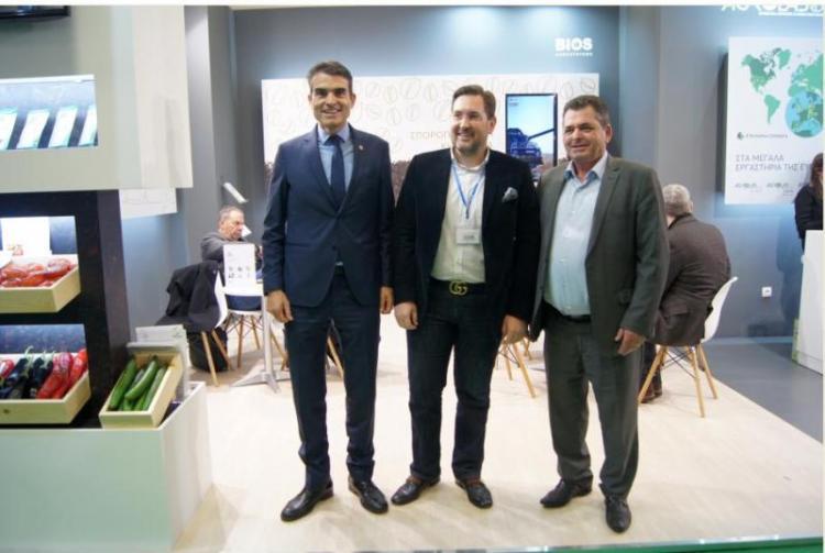 Την Agrotica επισκέφθηκε ο Κώστας Καλαϊτζίδης