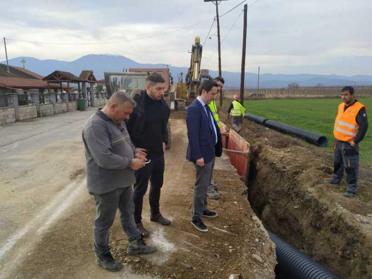 Ξεκίνησαν τα έργα αποχέτευσης και επεξεργασίας λυμάτων σε Κοινότητες του κάμπου, προϋπολογισμού ύψους 5,4 εκατ. ευρώ