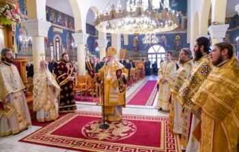 Εορτάστηκε η μνήμη του Αγίου Φωτίου του Μεγάλου στη Βεργίνα