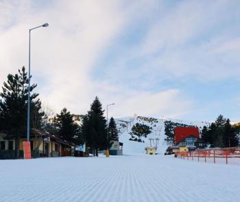 Επιτέλους...χιονοδρομία στο Σέλι!
