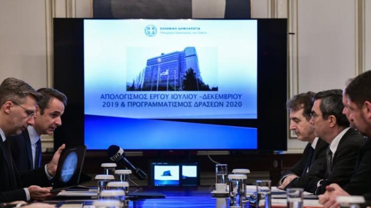 Κ. Μητσοτάκης σε Μ. Χρυσοχοϊδη : «Εμπεδώνεται σταδιακά ένα αίσθημα ασφάλειας στην ελληνική κοινωνία»
