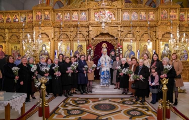 Αγρυπνία επί τη εορτή της αποδόσεως της Υπαπαντής του Κυρίου στη Νάουσα