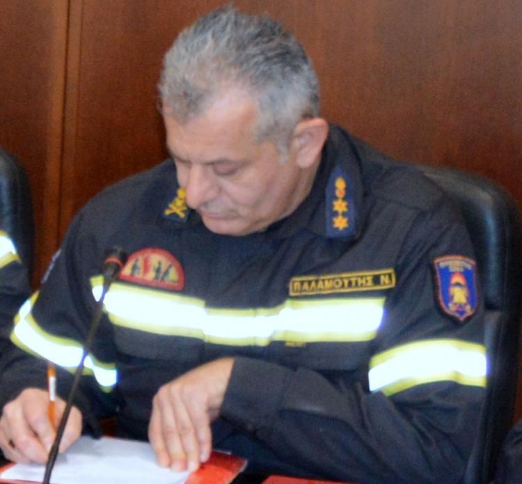 Στο βαθμό του πυράρχου προήχθη ο διοικητής της Π.Υ. Βέροιας και των Πυροσβεστικών Υπηρεσιών Ημαθίας, Ν. Παλαμούτης